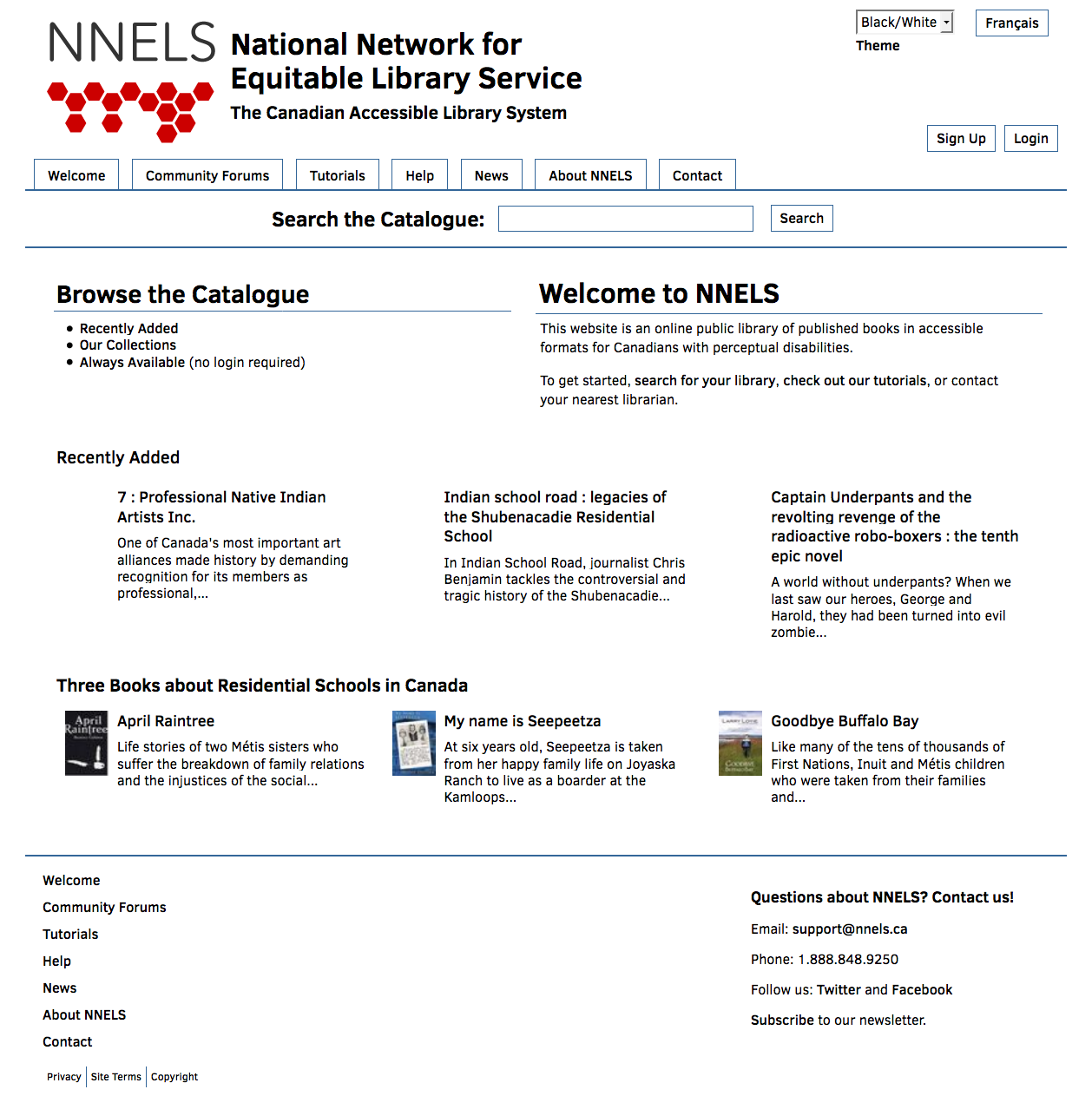 National Network for Equitable Library Service