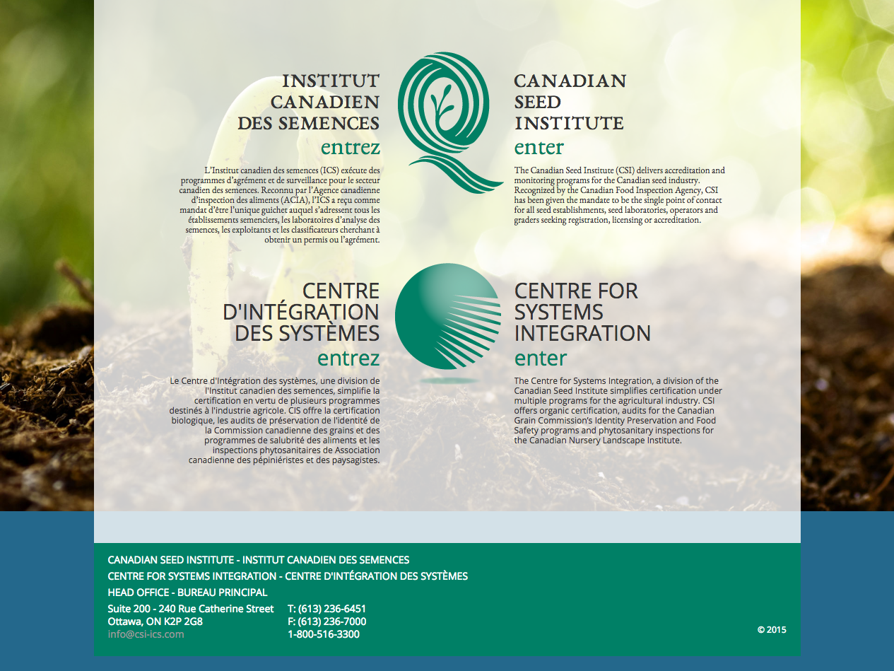Canadian Seed Institute