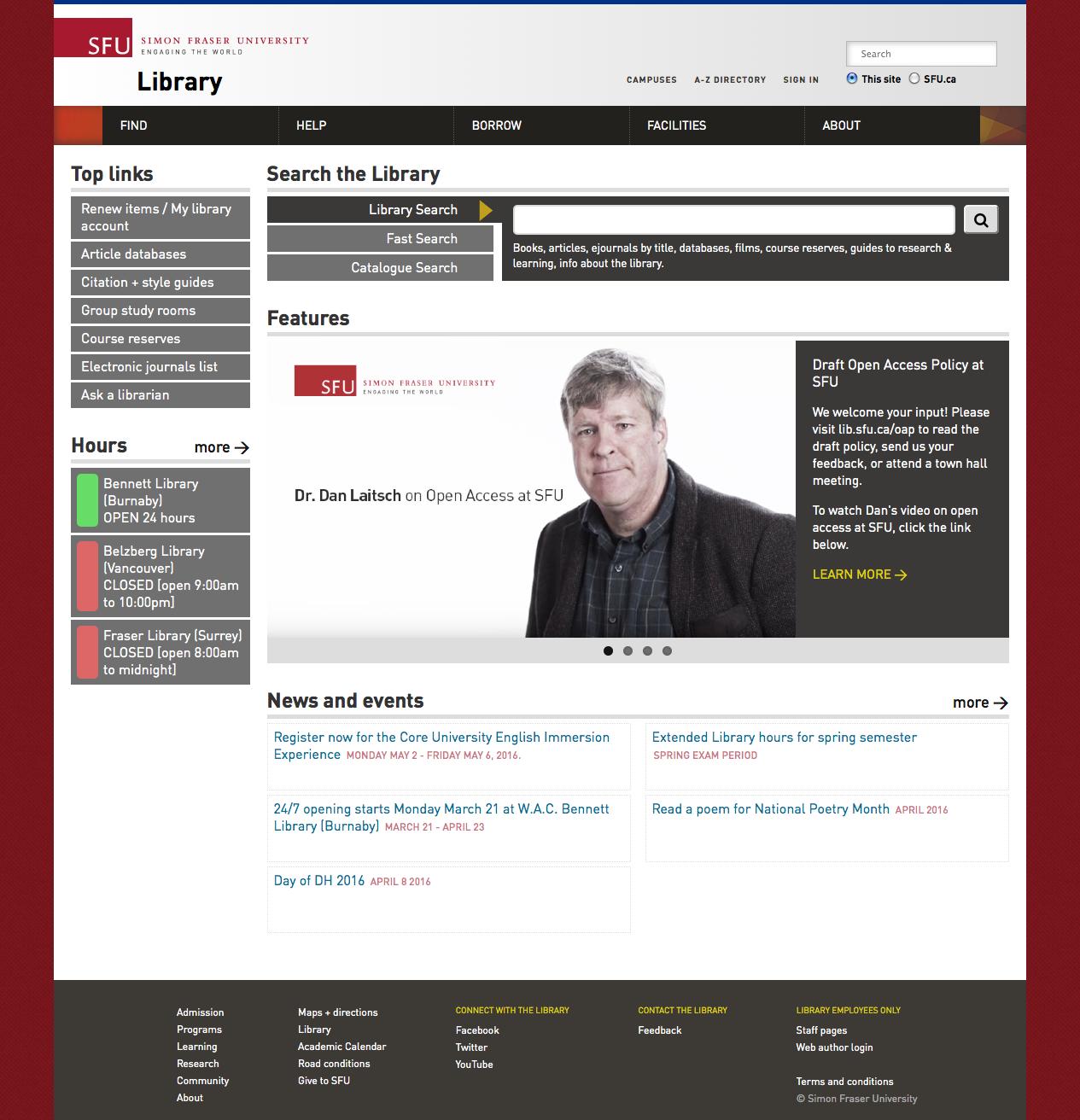 Simon Fraser University Library