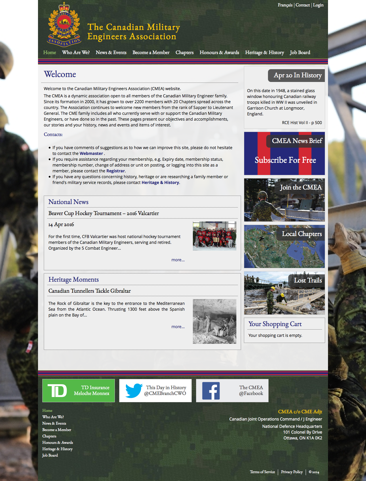 Canadian Military Engineers Association